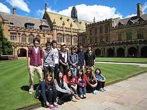 シドニー大学短期留学