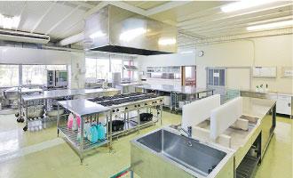 給食管理実習室(1F)