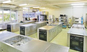 食品加工実習室(1F)